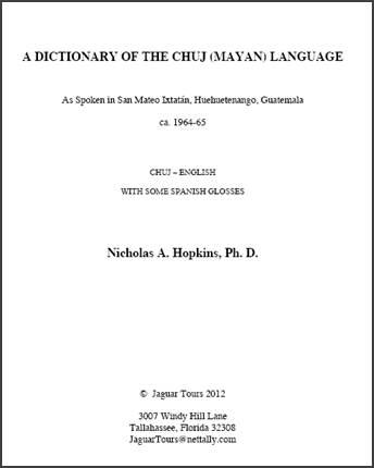 Chuj_Dictionary